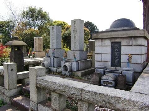 原口兼済の墓