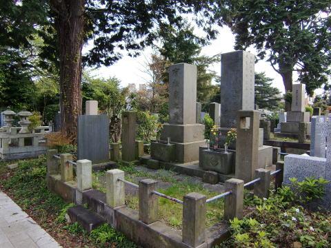 有松英義の墓